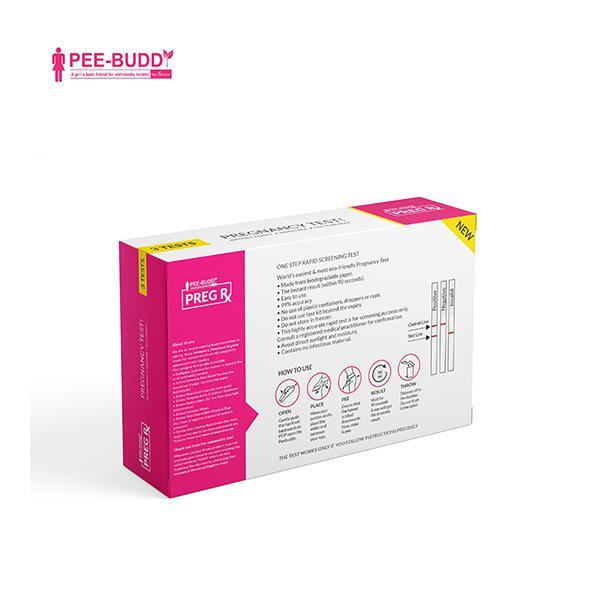 Peebuddy Preg Rx Pregnancy Test Funnels 3's