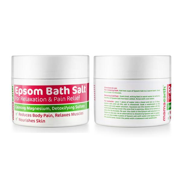 Mamaearth Epsom Bath Salt 200 gm