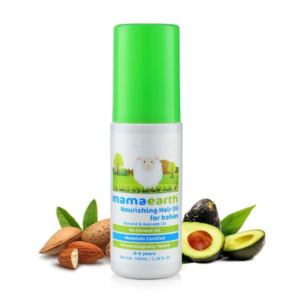 Mamaearth Nourishing Baby Hair Oil 100 ml