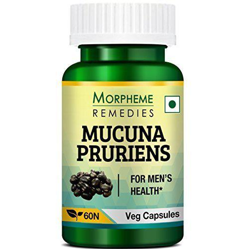 Morpheme Remedies Mucuna Pruriens 500 mg Veg Capsules 60's
