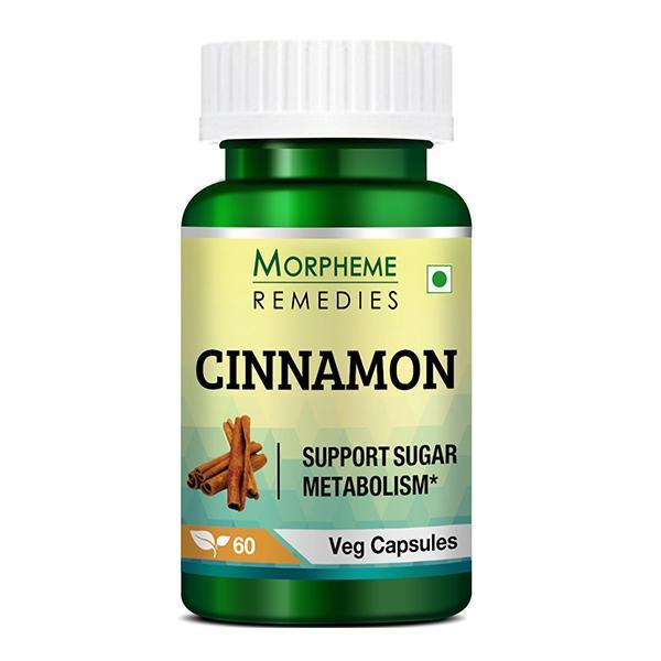 Morpheme Remedies Cinnamon 500mg Extract 60's