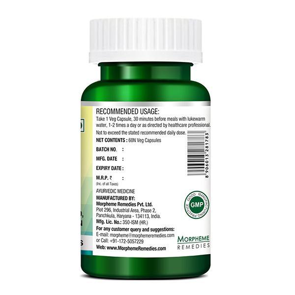 Morpheme Remedies Garcinia 5X (Garcinia, Coffee, Green Tea, Forskolin, Grape Seed) 60's