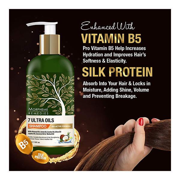Morpheme Remedies 7 Ultra Oils Shampoo 300 ml