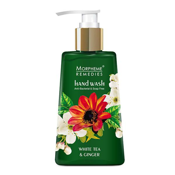 Morpheme Remedies Anti Bacterial Hand Wash - White Tea & Ginger 250 ml