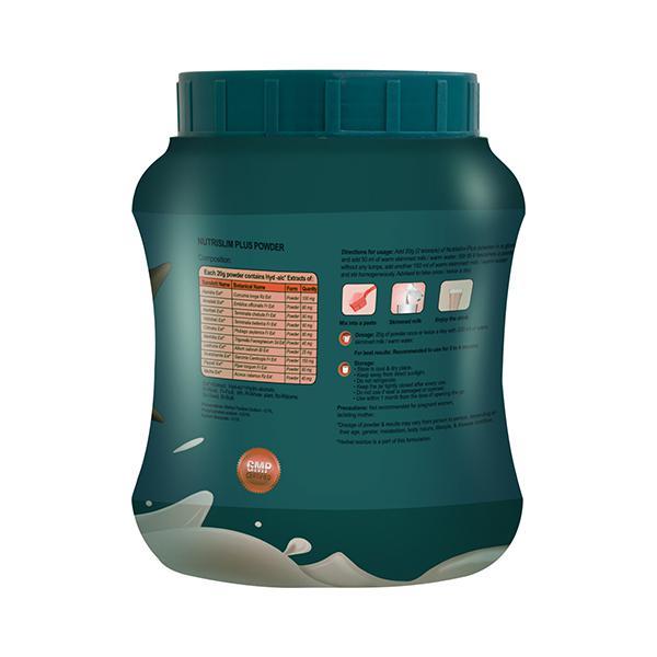 Nutrislim Plus Powder - Vanilla Flavour 500 gm