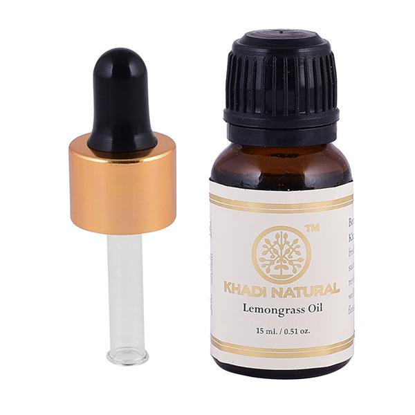 Khadi Natural Essential Oil - Lemongrass 15 ml