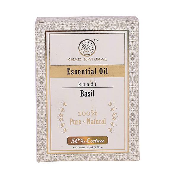 Khadi Natural Essential Oil - Basil 15 ml