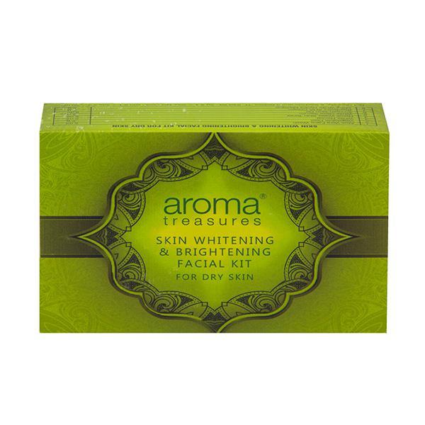 Aroma Treasure Skin Whitening and Brightening Facial Kit - Dry Skin 20 gm