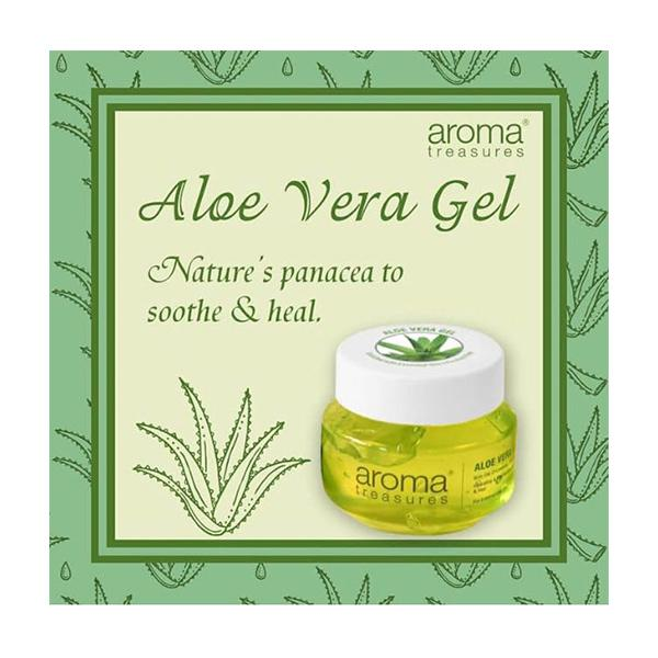 Aroma Treasures Aloe Vera Gel 125 gm