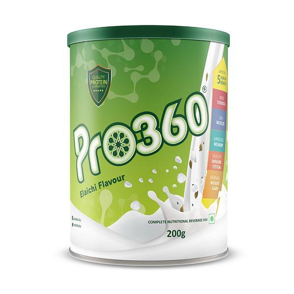 Pro360 Classic Nutritional Powder - Elaichi Flavour 200 gm