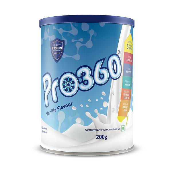 Pro360 Classic Nutritional Powder - Vanilla Flavour 200 gm
