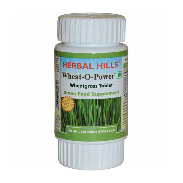 Herbal Hills Wheat-O-Power Tablet 120's