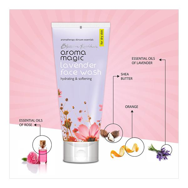 Aroma Magic Face Wash - Lavender 100 ml