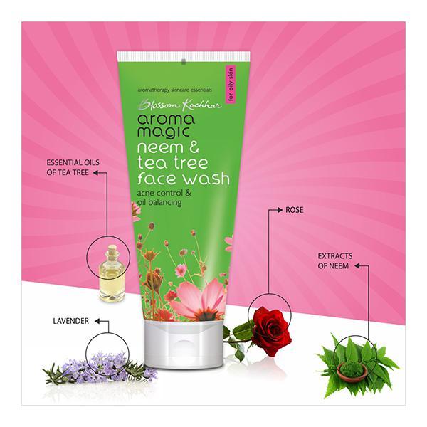 Aroma Magic Face Wash - Neem & Tea Tree 100 ml