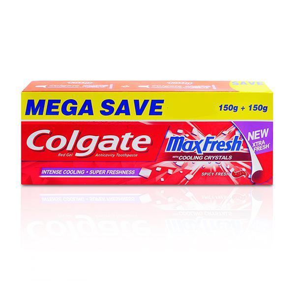 Colgate MaxFresh Anticavity Toothpaste Gel - Spicy Fresh 300 gm