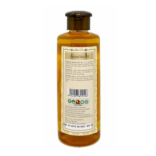 Meghdoot Hair Oil - Almond 210 ml