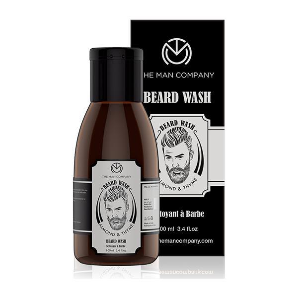 The Man Company Beard Wash for Growth - Almond & Thyme 100 ml