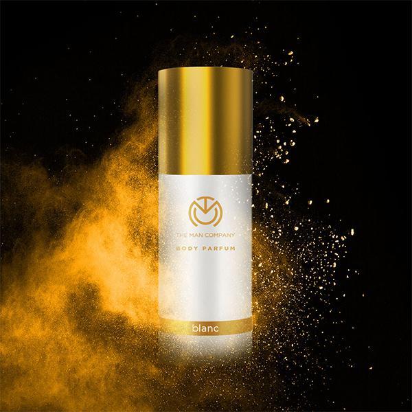 The Man Company Body Perfume Deodorant Spray - Blanc 120 ml