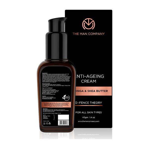 The Man Company Anti-Ageing Cream - Moringa & Shea Butter 40 gm