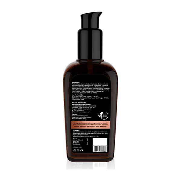 The Man Company Anti-Acne Gel - Neem & Tea Tree 90 gm