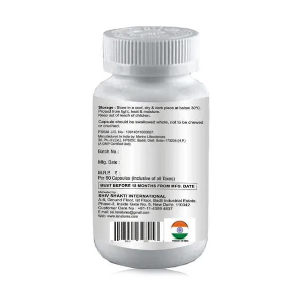 La nature's Flax Seed Oil 1000 mg Softgel capsules 60's