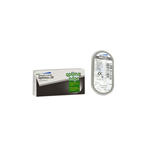 Bausch & Lomb Optima 38 Yearly Contact Lens - 1 Lens/Box (-0.75)