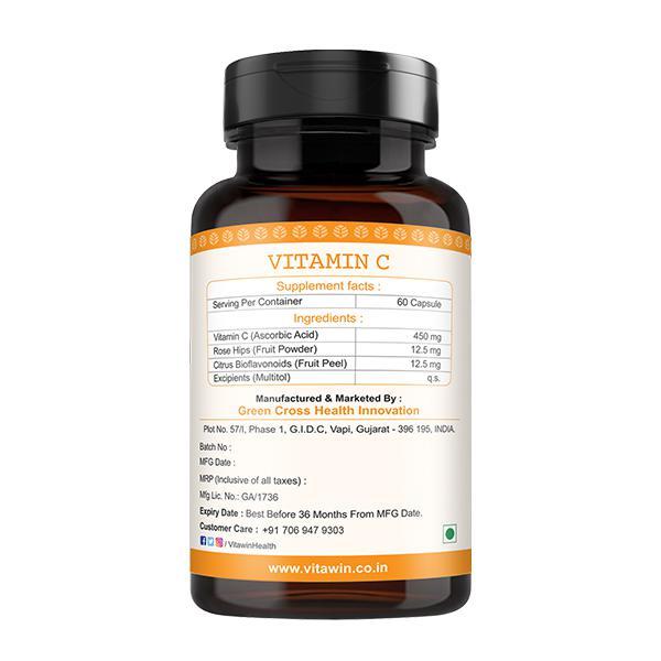 Vitawin Vitamin C Capsules 60's
