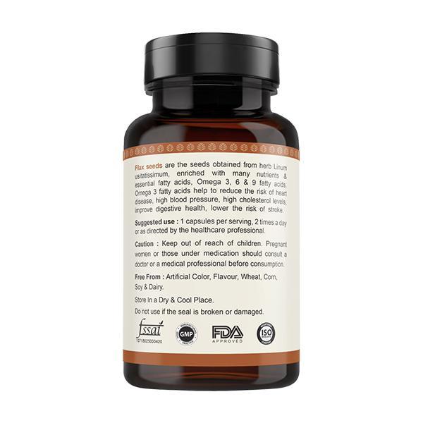 Vitawin Flax Seed Vegetarian Capsule 60's